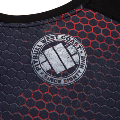 RASHGUARD PERFORMANCE MESH IRON LOGO