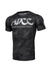 ADCC All Black Camo Short Sleeve Rashguard