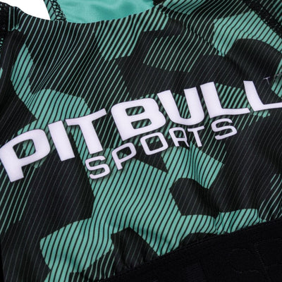 pitbull west coast sport fightwear trening top stanik