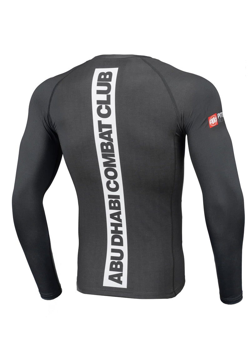 ADCC HILLTOP Grey Long Sleeve Rashguard