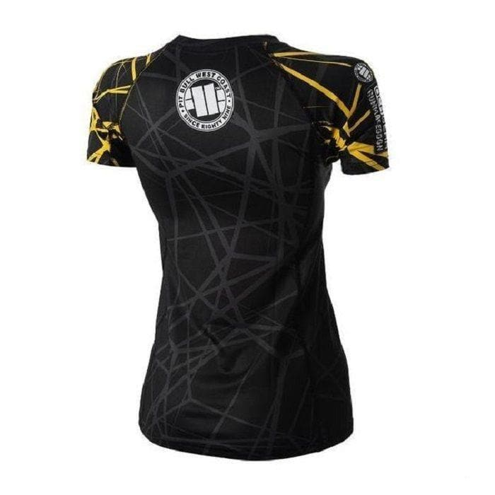 DAMSKI RASHGUARD RMG Yellow Ray