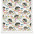 Hedgehogs Wallpaper in White