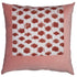 Pillow- Eyelash in Teak & Rose