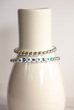 Load image into Gallery viewer, Silver Hematite Beads | Stretch Bracelet