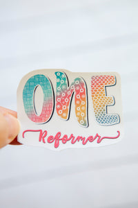 Enneagram Type | Rainbow | Water Resistant Die Cut Sticker