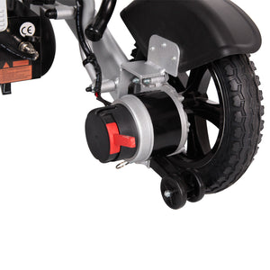 MobilityPlus+ Ultra Lightweight InstaFold Electric Wheelchair | 24kg, 4mph, Lithium Batteries
