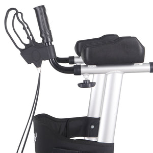 MobilityPlus+ Upright Rollator with Forearm Support