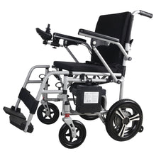 Load image into Gallery viewer, MobilityPlus+ Featherlite Easy-Folding Lightweight Electric Wheelchair | 18.7kg, 4mph, Lithium Battery