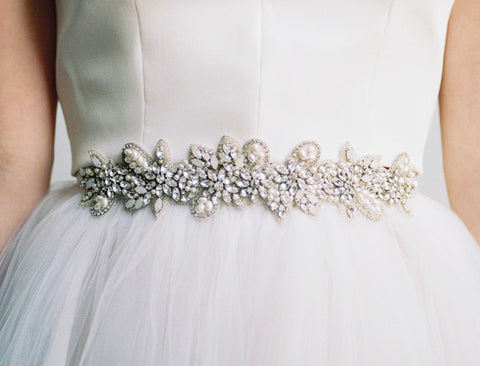 Corsage Dress Sash: Alternate View #2
