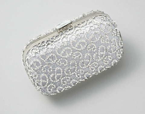 Crystalline Clutch Grey: Alternate View #1
