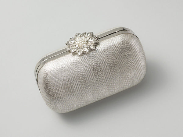Eloise Metallic Clutch: Featured Product Image