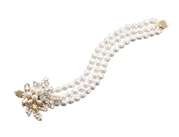 Corsage Pearl Bracelet: Featured Product Image