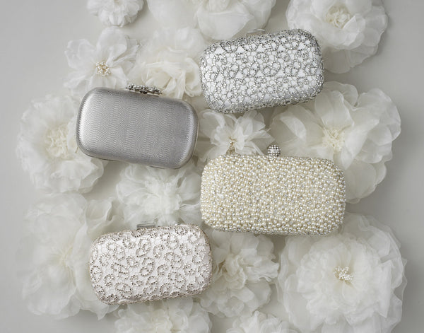 Crystalline Clutch Ivory