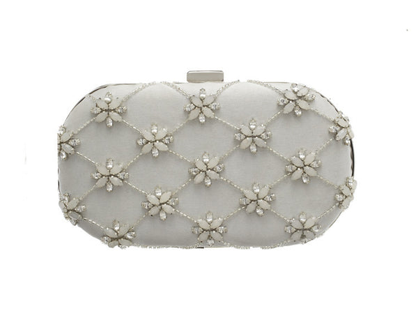 Liddy Opal Clutch: Featured Product Image