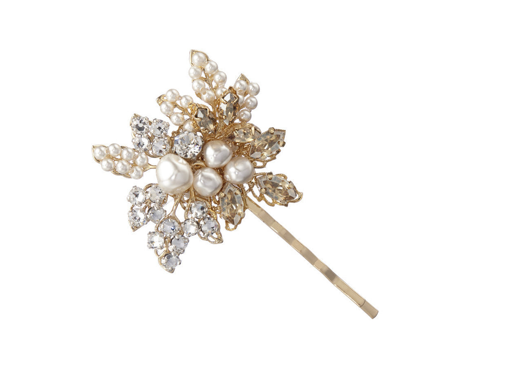 Corsage Pearl Hairpin