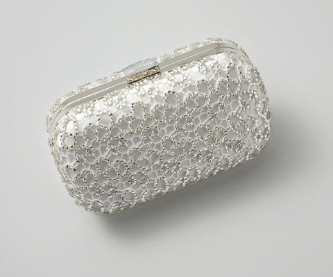 Crystalline Clutch Ivory: Alternate View #4