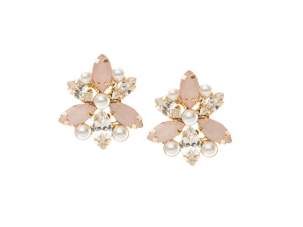 Elle Stud Peony: Featured Product Image
