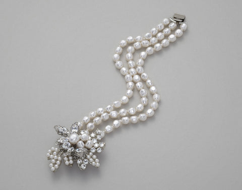 Corsage Pearl Bracelet: Alternate View #2