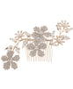 June Crystal Hair Comb