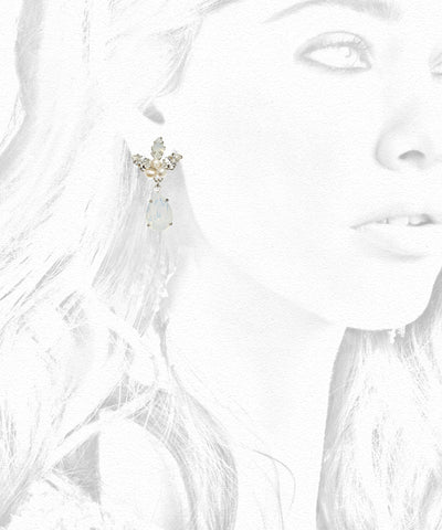 Copy of Lily Drop Earring: Alternate View #5