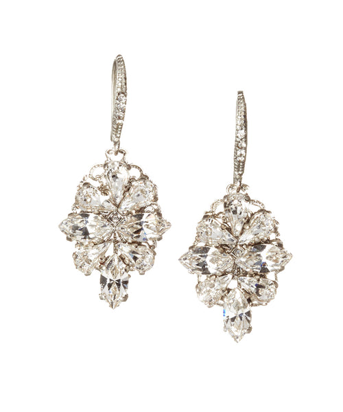 Copy of Tillie Crystal Drop Earring: Featured Product Image