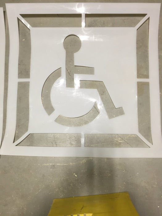 "30"" Handicap Stencil with background (Seconds"