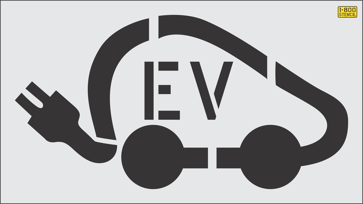 "36"" EV logo with Tail Plug"