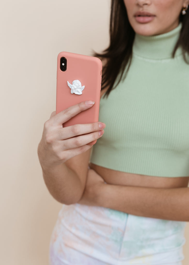 Angelic-Like iPhone Case | Coral