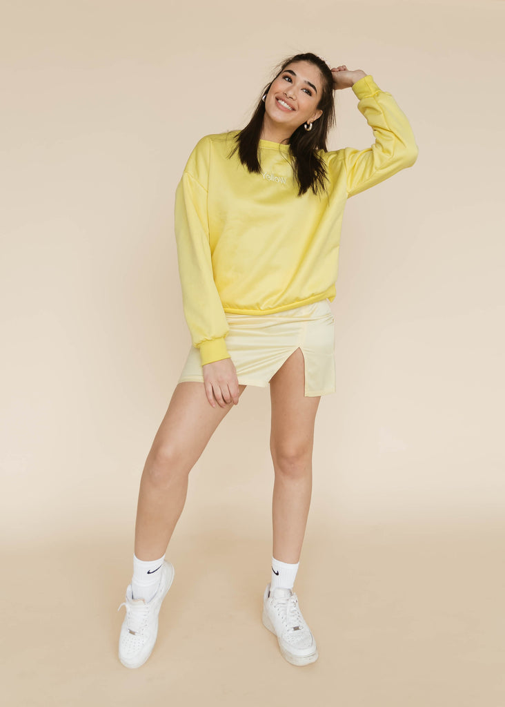 Game of Tones Sweatshirt | Yellow