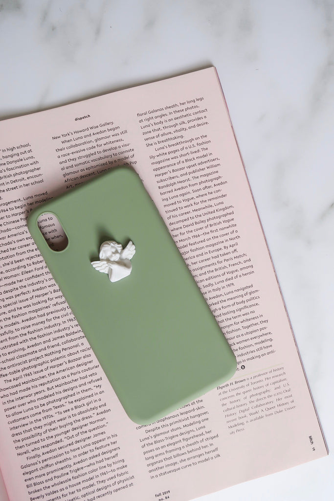 Angelic-Like iPhone Case | Mint