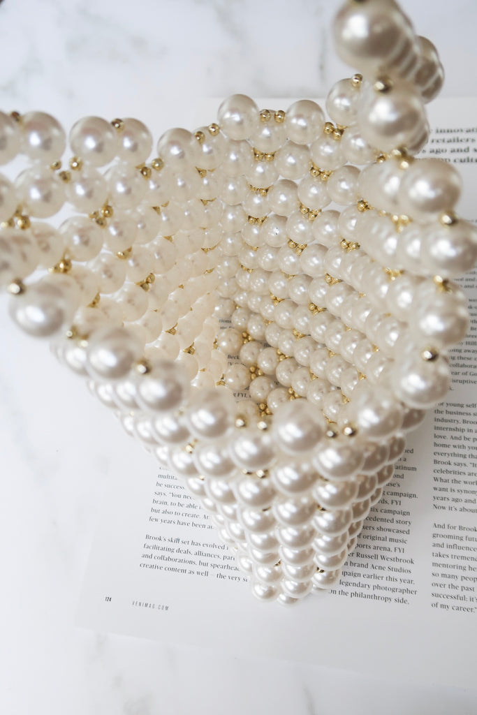 Sunday Brunch Pearl Purse
