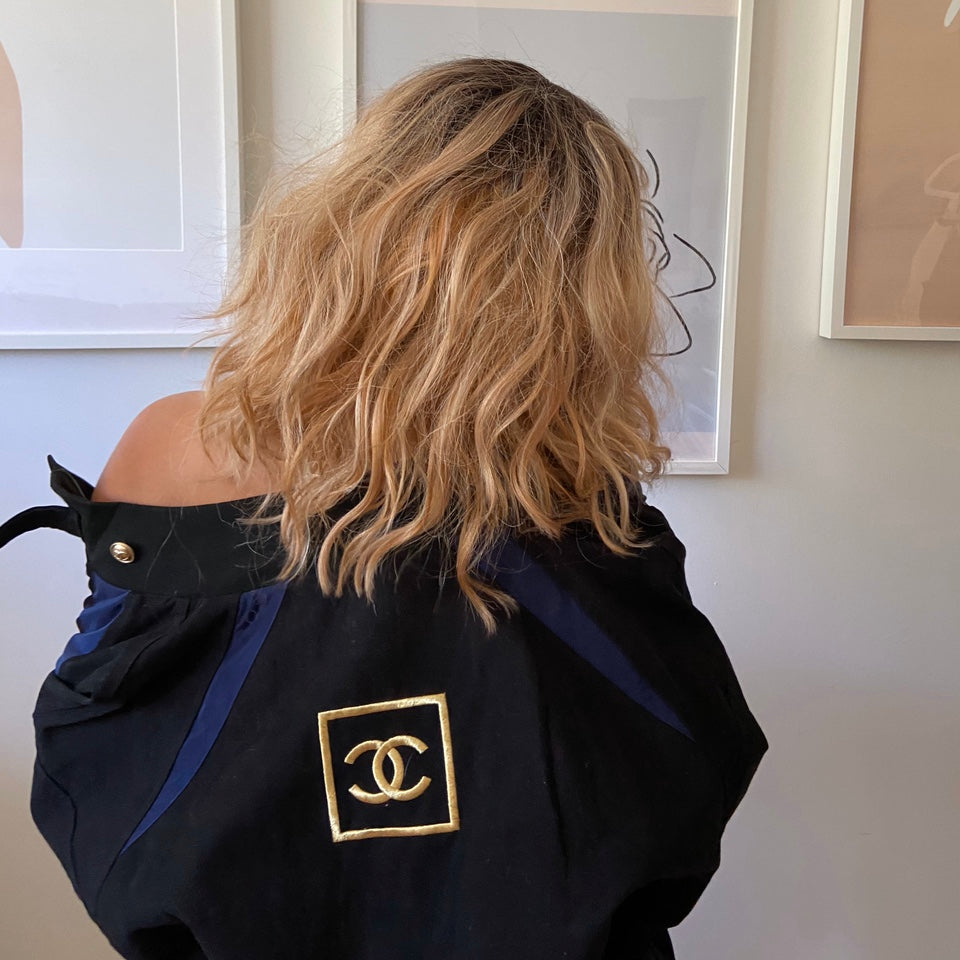 Vintage Chanel Uniform Bomber Jacker