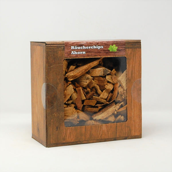 Ahorn Räucherchips Box 3 Liter Landree®