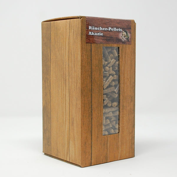Akazie Räucher-Pellets Box 1,5 Liter
