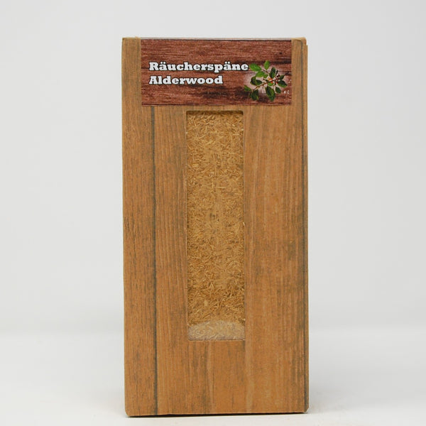Alderwood Räucherspäne fein, Box 1,5 Liter