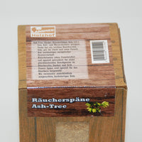 Ash-Tree Räucherspäne fein, Box 1,5 Liter