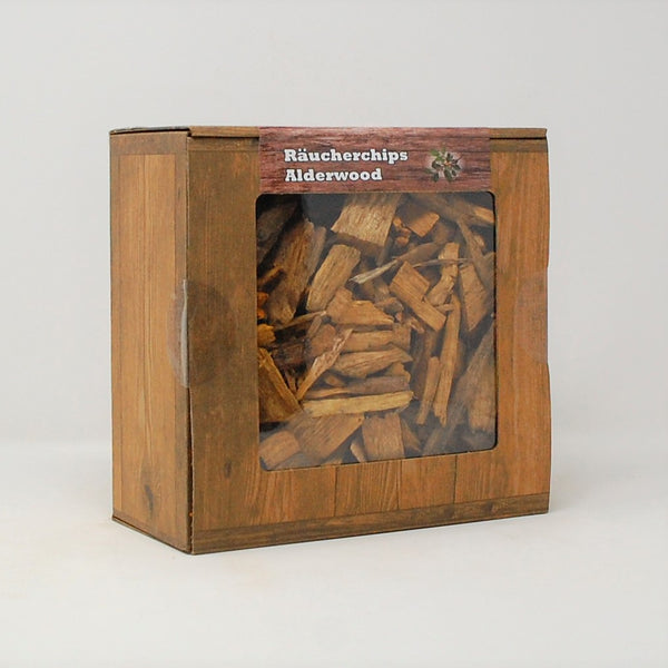 Alderwood Räucherchips Box 3 Liter Landree®