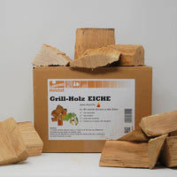 Eiche BBQ-Grillholz 3,5KG - Wood Chunks Natural-Fire Landree®
