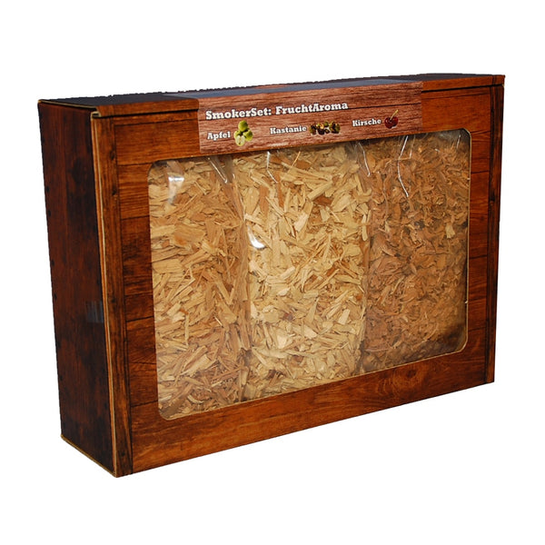 Fruchtset wood chips