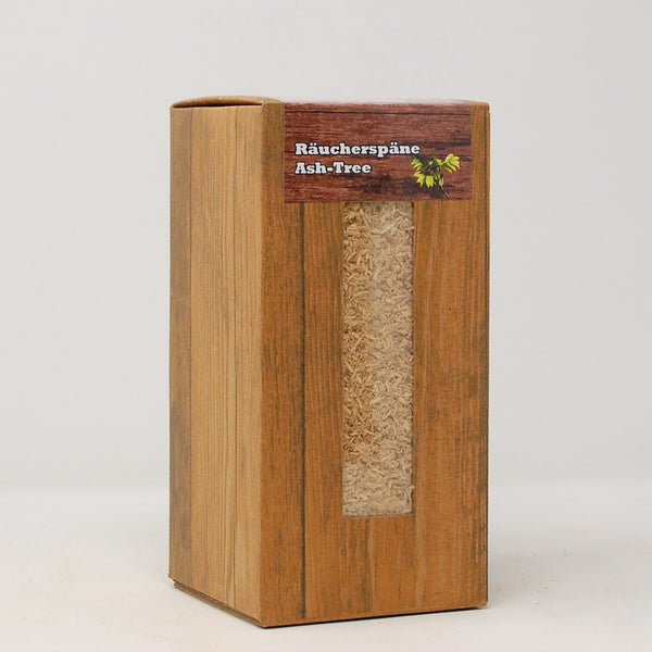 Ash-Tree Räucherspäne mittel 1,5L Box Landree®