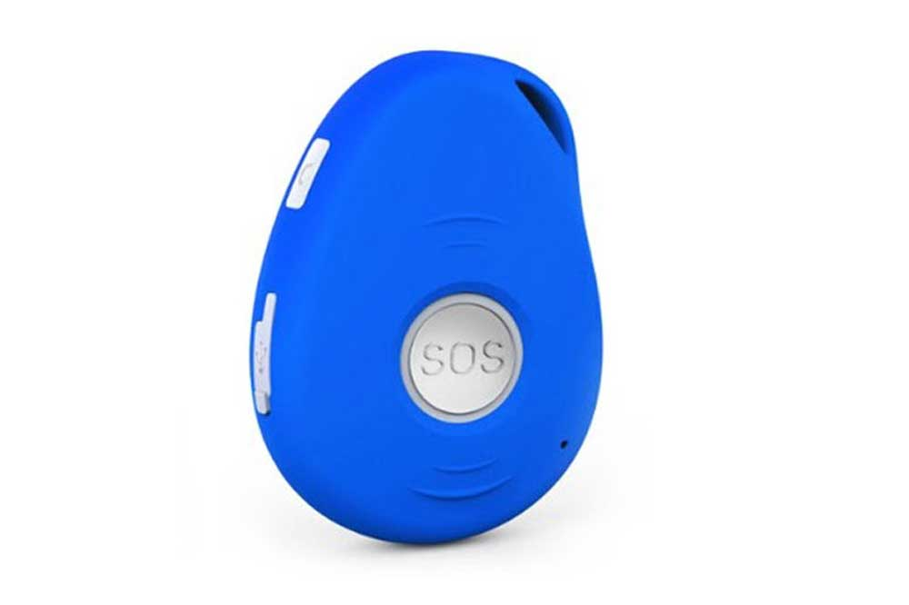 kid tracker blue