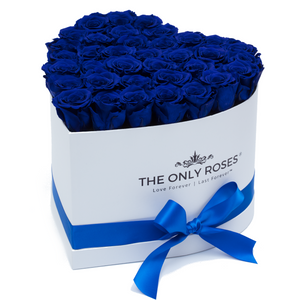 Royal Blue Preserved Roses