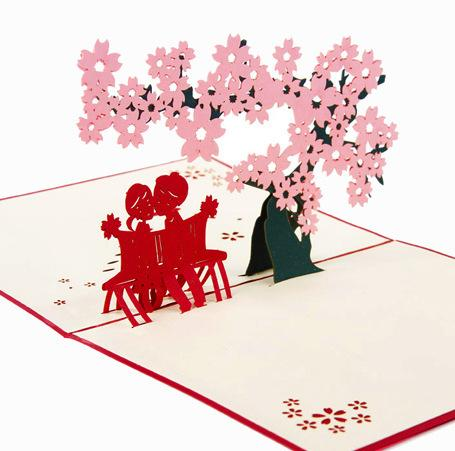 Love Tree | 3D Card - The Only Roses