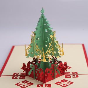 Christmas Tree | 3D Card - The Only Roses
