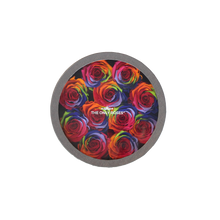 Load image into Gallery viewer, Rainbow Preserved Roses | Small Round Classic Grey Box
