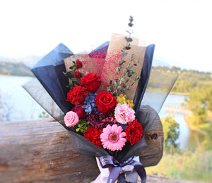 Preserved Flower Bouquet | Large Bouquet - The Only Roses