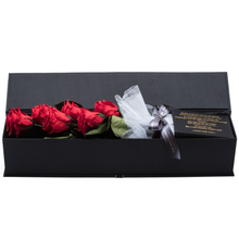 Load image into Gallery viewer, The Only Extra | 6 Red Preserved Long Stem Roses Bouquet - The Only Roses