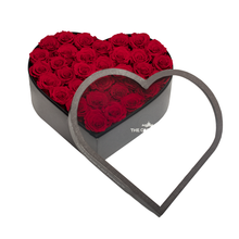 Load image into Gallery viewer, Large Heart Classic Grey Box
