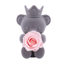 Load image into Gallery viewer, Pink Preserved Rose | Teddy Rose Bear - The Only Roses