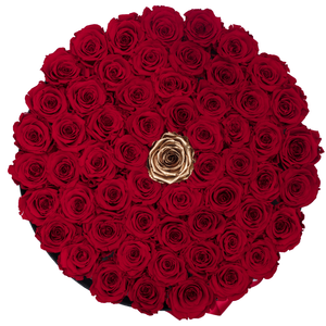 Huggy Round Large Center Rose